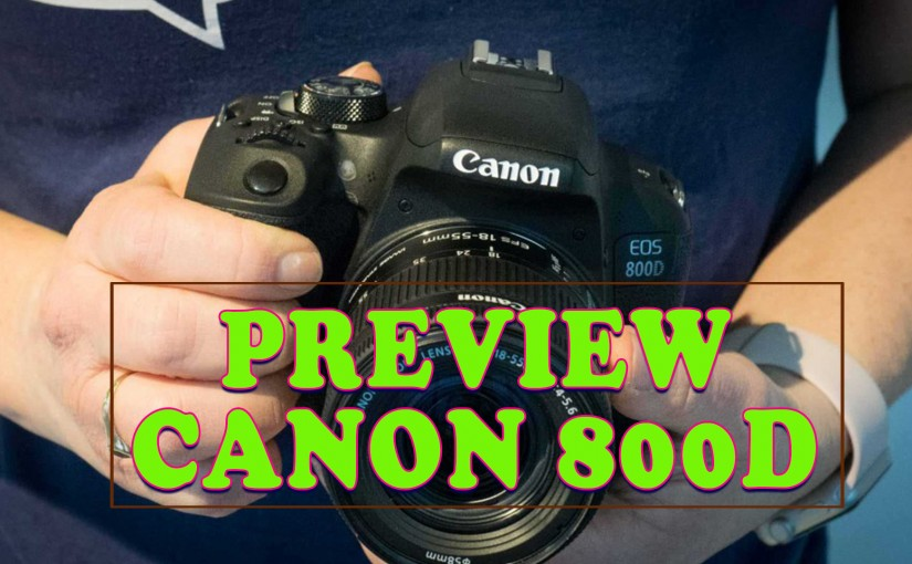 Preview Canon 800D